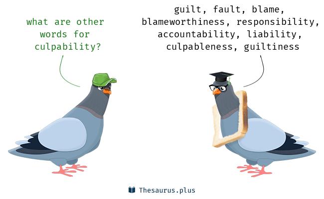 culpability